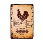 Metalen Bord Butcher's Selection Chicken Cuts