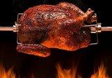 Kamado rotisserie – Spit on fire Medium