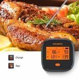 Inkbird IBBQ-4T WiFi thermometer met oplaadbare accu_