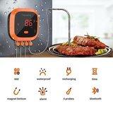 Inkbird IBT-4XC bluetooth thermometer met oplaadbare accu_