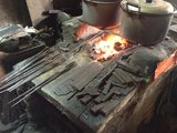 Forged Brute Santokumes 18cm