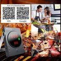 EasyBBQ bluetooth thermometer