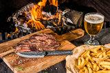 Style de Vie Brute Forged Steakmessen XXL