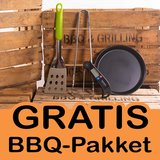 Gratis BBQ pakket BarbecueXXL