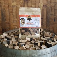 Mr Barrel BBQ rookchunks Whiskey 1350 gr