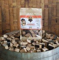 Mr Barrel BBQ rookchunks Whiskey 1350 gr