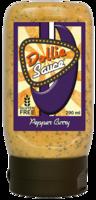 Dollie Sauce Pepper Curry knijpfles 290ml