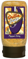 Dollie Sauce Pepper Curry knijpfles 290ml