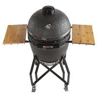Grill Guru Classic Large Grey Kamado BBQ