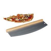 BarbecueXXL Pizza cutter van roestvrij staal 35 cm