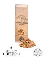 Smokey Olive Wood Amandel Rookchips Nº2 500 ml