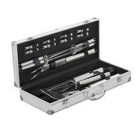 BarbecueXXL bestek 16 delig in alluminium koffer