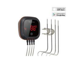 Inkbird IBT-4XS bluetooth thermometer met oplaadbare accu