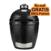 Primo Grill Round Kamado standalone + GRATIS Heat reflector!