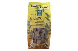 Golden Flame Bruine aanmaakblokjes 96 stuks