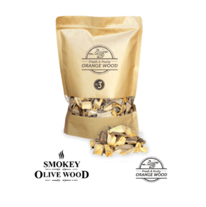 Smokey Olive Wood snippers Sinaasappel