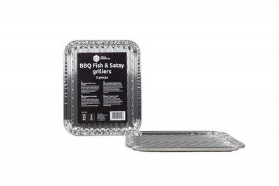 BarbecueXXL GF Aluminium Vis- en Satégriller 5 st.