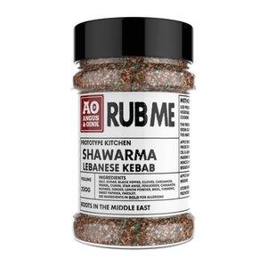 Angus & Oink - (Rub Me) Shawarma Lebanese kebab Seasoning
