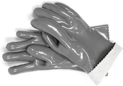 BarbecueXXL SR hittebestendige siliconen BBQ handschoenen Grijs