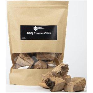 BarbecueXXL GF rookchunks olijf 1kg