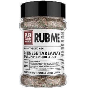 Angus & Oink - (Rub Me) Chinese Takeaway Salt & Pepper Chili Seasoning