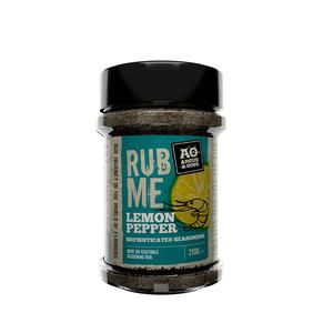 Angus & Oink - (Rub Me) Seafood Lemon Pepper Seasoning