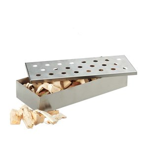 BarbecueXXL Smoker Box Stainless Steel de luxe